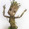 Make Your Own Papercraft Dancing Baby Groot