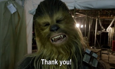 What's Hot: JJ Abrams and Others From The Set of STAR WARS: THE FORCE AWAKENS Say Thank You