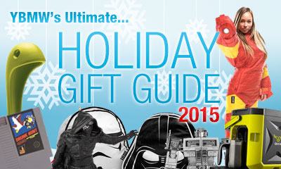 YBMW: Annual Holiday Gift Guide & Daily Giveaway 2015!