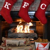 Forget The Yule Log, KFC Has A Fried Chicken-Scented Firelog!