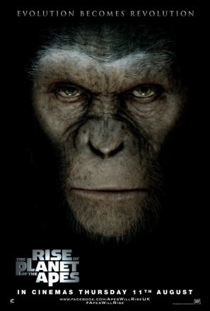 Dawn  Planet  Apes on New    Rise Of The Planet Of The Apes    Posters Featuring An Ominous