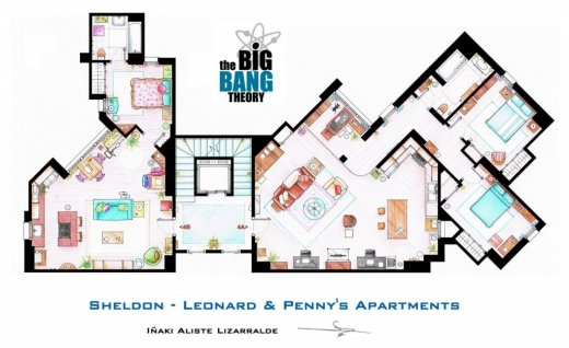 Floor map to the Big Bang Theory.jpeg