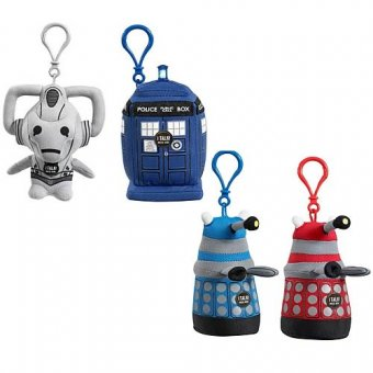 doctor who plush keychains.jpg
