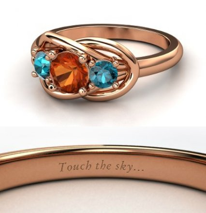 merida ringjpg - Disney Wedding Rings