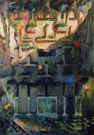 LIVES_OF_THE_ADVENTURER_by_Sam_Wood_Tomb_Raider_Pac_man_Press_Start_Continue_Ltd_Art_Gallery.jpg