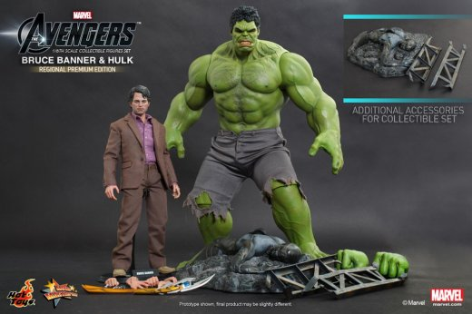 Hot Toys - The Avengers - Bruce Banner and Hulk Collectible Figures Set_15.jpg