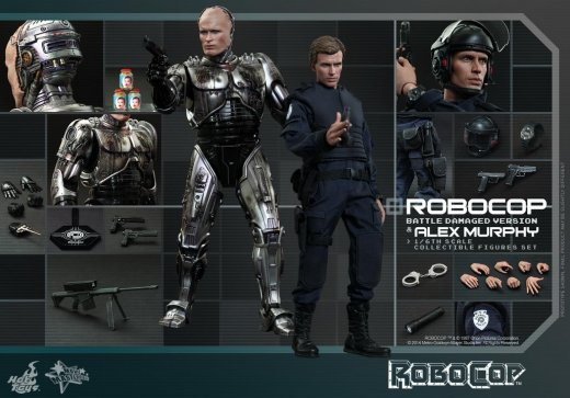 Hot Toys - RoboCop - RoboCop Battle Damaged Version and Alex Murphy Collectible Figures Set_12.jpg