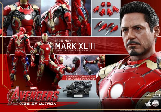 Hot Toys - Avengers - Age of Ultron - 1-4 Mark XLIII Collectible Figure_PR20.jpg