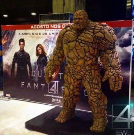 The Fantastic Four S Thing Has No Thing Youbentmywookie