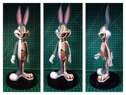 Anatomical-Wabbit-KIDROBOT-Bigshot-Toyworks-WB-Bugs-Bunny-Dissection-prototype-multi-view-.jpg