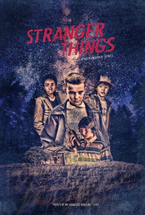 Stranger things Poster by Francisco Riquelme Bona.jpg