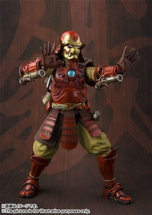 Tamashii-Nations-Manga-Realization-Steel-samurai-Iron-Man-action-figure-repulsors-firing.jpg