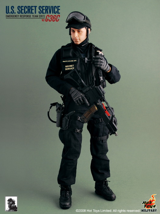 Very Hot Toys 1//6th Scale US Secret Service Emergency Response Belt