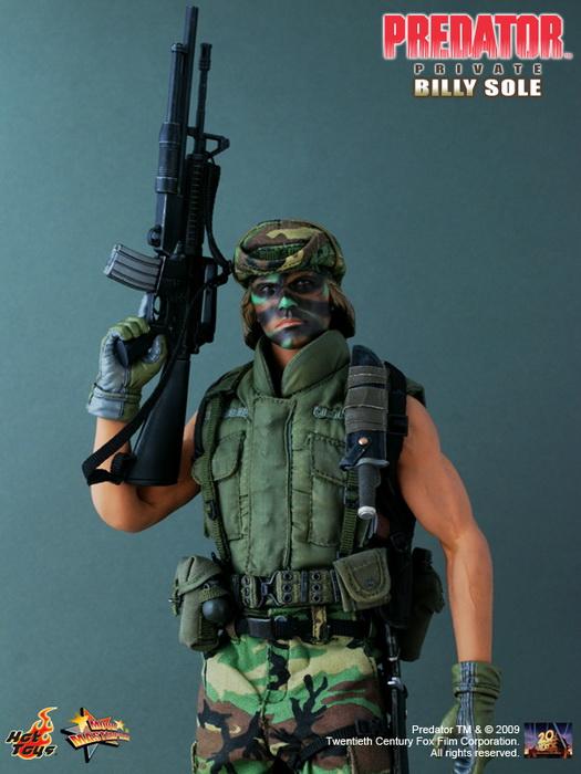 9%20Predator Private%20Billy%20Sole resize Hot Toys Gets License For Predators
