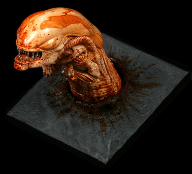 Hollywood Collectibles Group Releases Aliens Chestburster Ybmw