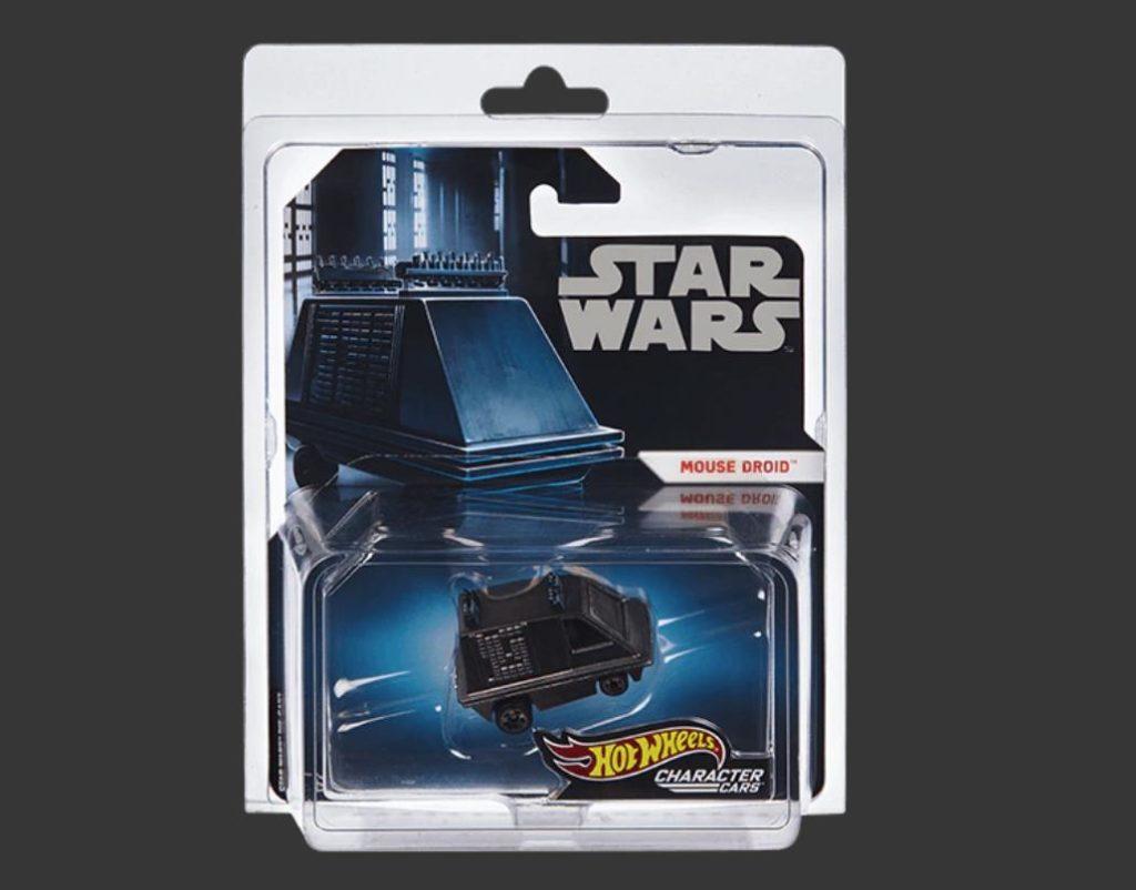 SDCC 2019 Exclusive Mattel Hot Wheels Exclusive Star Wars Mouse Droid Vehicle