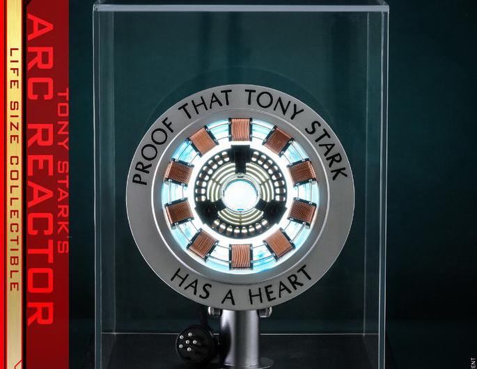 Hot Toys Lms012 Iron Man Tony Stark S Arc Reactor