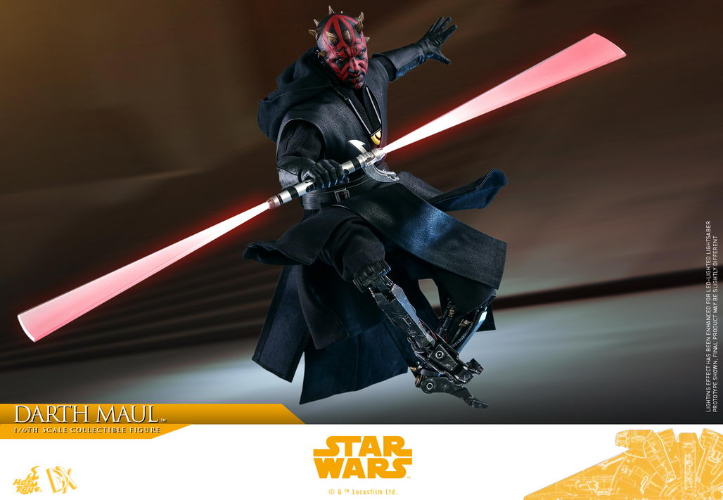 Hot Toys – DX18 – Solo: A Star Wars Story – 1/6th scale Darth Maul Collectible Figure
