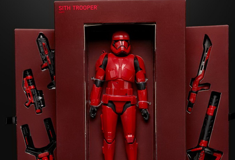 Star Wars: The Rise Of Skywalker' SDCC 2019 Sith Trooper Exclusives