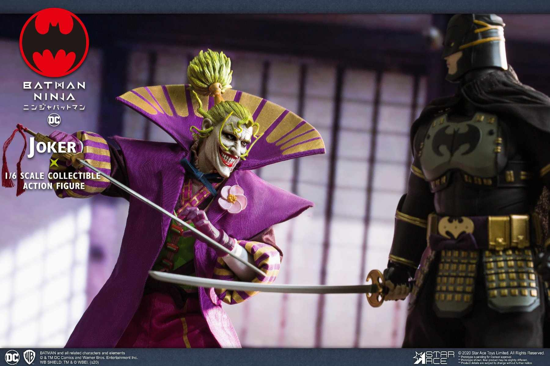 Batman Ninja Lord Joker 1 6 Scale Deluxe Figure From Star Ace Toys Ybmw